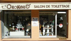 Le salon de toilettage canin biot obokabo for Salon de toilettage canin